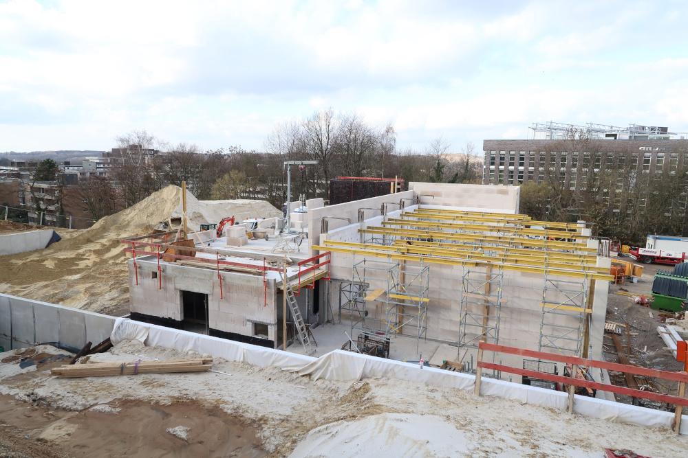 19.02.2019: Auf der Baustelle Februar 2019