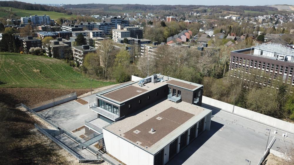 04.04.2020: Fertiges Gerätehaus von oben
